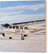 Cessna 208 Caravan Wood Print