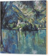 Cezanne: Annecy Lake, 1896 Wood Print