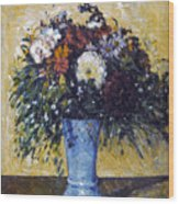 Cezanne: Flowers, 1873-75 Wood Print