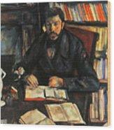Cezanne: Geffroy, 1895-96 Wood Print