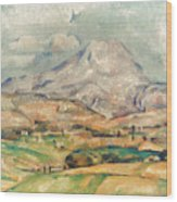 Cezanne: St. Victoire, 1897 Wood Print