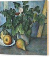 Cezanne: Still Life, C1888 Wood Print