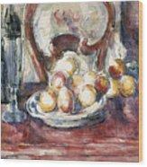 Cezanne: Still Life Wood Print