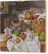Cezanne: Table, 1888-90 Wood Print