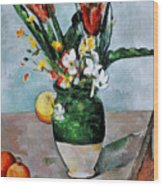 Cezanne: Tulips, 1890-92 Wood Print