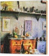 Cezanne's Studio Wood Print