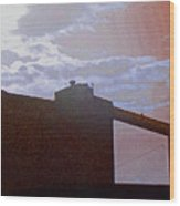 Cfi Silhouette 3 Wood Print