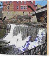 Chagrin Falls  Wood Print