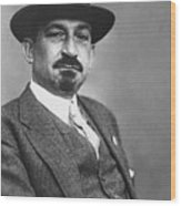 Chaim Weizmann  Wood Print