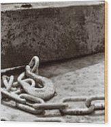 Chain 2 Wood Print
