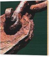 Chain Age II Wood Print by Stephen Mitchell