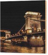 Chain Bridge - Budapest Wood Print