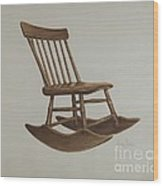 Chair Wood Print