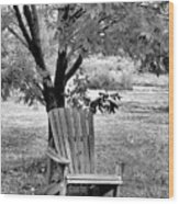 Chair Wood Print