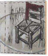 Chair Vii Wood Print