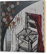 Chair Viii Wood Print