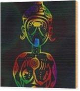 Chaka Wood Print