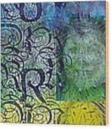 Chakra Totem Journal Wood Print
