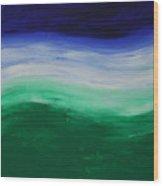 Chakra Wave 1 Wood Print