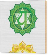 Chakras Wood Print