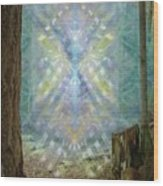 Chalice-tree Spirt In The Forest V2 Wood Print