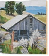 Chama Valley Barn Wood Print