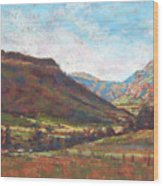 Chama Valley Light Wood Print