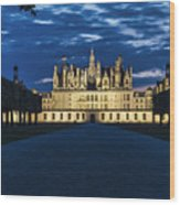 Chambord Castle Wood Print