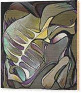 Chameleon Fish Wood Print