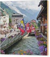 Chamonix, France Wood Print