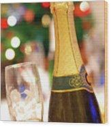 Champagne Wood Print by Carlos Caetano