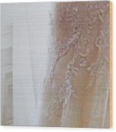 Champagne Lace Wood Print