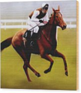 Champion Hurdle - Winner - Morley Street Wood Print