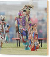 Championship Pow Wow - Grand Prairie Texas Wood Print