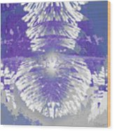 Chandelier 2 Wood Print