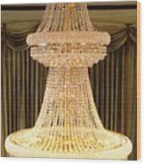 Chandelier Hanging Tall Wood Print