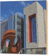 Chandler City Hall 2 Wood Print