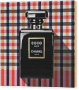 Chanel Coco Noir-pa-kao-ma2 Wood Print