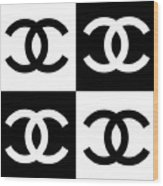 Chanel Design-5 Wood Print