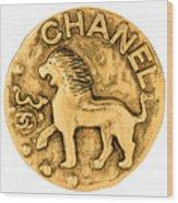 Chanel Jewelry-1 Wood Print