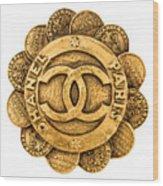 Chanel Jewelry-2 Wood Print