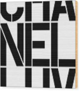 Chanel Luv-1 Wood Print