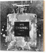 Chanel No. 5 Dark Wood Print