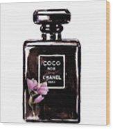 Chanel Noir Magnolia Pink Wood Print
