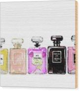 Chanel Perfume Print Set Chanel Poster Wood Print