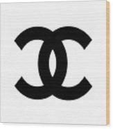Chanel Symbol Wood Print