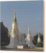 Chang Mai Temple Wood Print