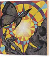 Change Mandala Wood Print