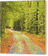 Changing Seasons Wood Print