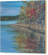 Channings Lake Wood Print